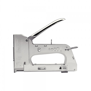 "Capsator tacker cabluri Rapid PRO 28E, capse semirotunde ""U"" 28/9-11 mm, reglare forta capsare in 3 trepte, diametru cablu 4.5 mm, joasa tensiune, 5 ani garantie, fabricat in Suedia 2051171011"