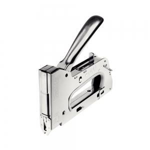 "Capsator tacker cabluri Rapid PRO 28E, capse semirotunde ""U"" 28/9-11 mm, reglare forta capsare in 3 trepte, diametru cablu 4.5 mm, joasa tensiune, 5 ani garantie, fabricat in Suedia 2051171010"