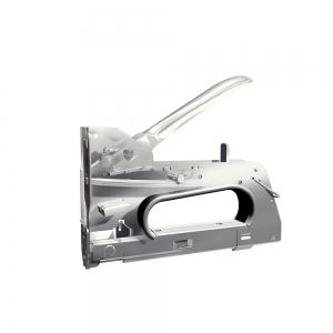 "Capsator tacker cabluri Rapid PRO 28E, capse semirotunde ""U"" 28/9-11 mm, reglare forta capsare in 3 trepte, diametru cablu 4.5 mm, joasa tensiune, 5 ani garantie, fabricat in Suedia 2051171012"