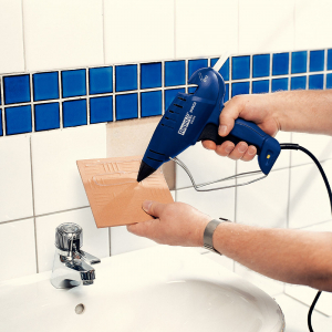 Baton silicon Rapid PRO-B Sanitar si Cabluri, alb, Ø12mm x 190mm, baza EVA, 1 kg/pachet 403028033