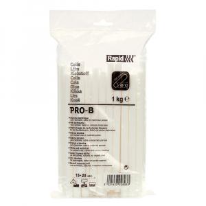 Baton silicon Rapid PRO-B Sanitar si Cabluri, alb, Ø12mm x 190mm, baza EVA, 1 kg/pachet 4030280322