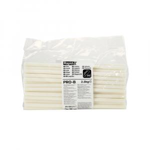 Baton silicon Rapid PRO-B Sanitar si Cabluri alb, Ø12mm x 295mm, baza EVA, 2.5 kg/pachet 403028040