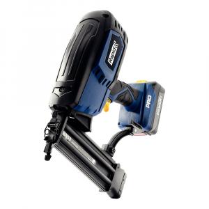 Masina batut cuie electrica Rapid PRO BN50 cu acumulatori Li-Ion,Kit cu servieta,reglare putere de actionare,indicator LED nivel baterie,ochelari protectie inclusi,cuie Rapid 8 (25-55mm),500083613