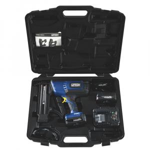 Masina batut cuie electrica Rapid PRO BN50 cu acumulatori Li-Ion,Kit cu servieta,reglare putere de actionare,indicator LED nivel baterie,ochelari protectie inclusi,cuie Rapid 8 (25-55mm),500083614