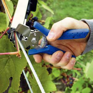 Rapid PRO LIG150 Vine Pliers, high capacity magazine and 2 boxes of C50 / 4-14mm vine staples, galvanized, 4.200/box5