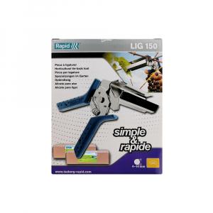 Rapid PRO LIG150 Vine Pliers, high capacity magazine and 2 boxes of C50 / 4-14mm vine staples, galvanized, 4.200/box9