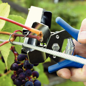 Rapid PRO LIG150 Vine Pliers, high capacity magazine and 2 boxes of C50 / 4-14mm vine staples, galvanized, 4.200/box6