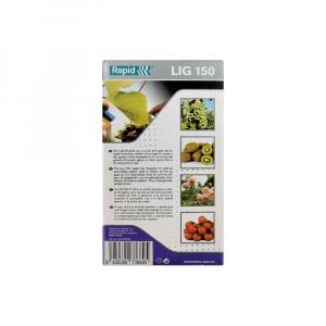 Rapid PRO LIG150 Vine Pliers, high capacity magazine and 2 boxes of C50 / 4-14mm vine staples, galvanized, 4.200/box10