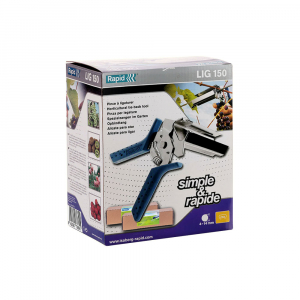 Rapid PRO LIG150 Vine Pliers, high capacity magazine and 2 boxes of C50 / 4-14mm vine staples, galvanized, 4.200/box8