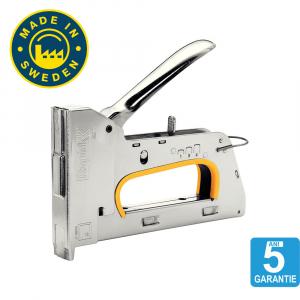 Capsator tacker Rapid PRO R30E nas lung, ajustare forta capsare in 3 trepte, capse 13/4-8 mm, 5 ani garantie, 5 ani garantie, fabricat in Suedia 205108500