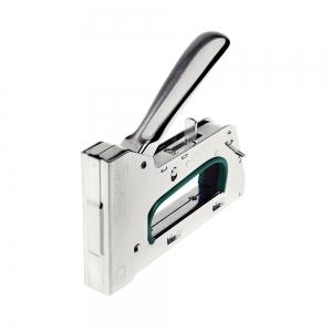 Capsator tacker Rapid PRO R34E kit, ajustare forta capsare in 3 trepte, capse 140/6-14 mm, include capse 140/8 (2000buc/cutie) si capse 140/10 (2000buc/cutie), 5 ani garantie, fabricat in Suedia 5001313