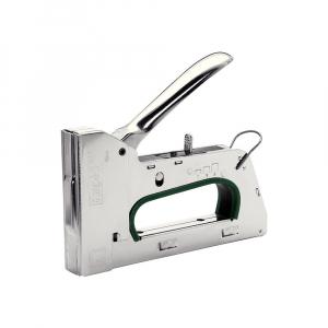 Capsator tacker Rapid PRO R34E kit, ajustare forta capsare in 3 trepte, capse 140/6-14 mm, include capse 140/8 (2000buc/cutie) si capse 140/10 (2000buc/cutie), 5 ani garantie, fabricat in Suedia 5001312