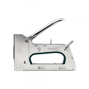 Capsator tacker Rapid PRO R34E kit, ajustare forta capsare in 3 trepte, capse 140/6-14 mm, include capse 140/8 (2000buc/cutie) si capse 140/10 (2000buc/cutie), 5 ani garantie, fabricat in Suedia 5001314