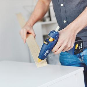 Baton silicon profesional Rapid PVC, Cabluri si Plastic, fixare si reparatii, transparent, Ø12mm x 190mm, baza EVA, 14 buc/blister 4010736311