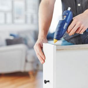 Baton silicon profesional Rapid PVC, Cabluri si Plastic, fixare si reparatii, transparent, Ø12mm x 190mm, baza EVA, 48 buc/blister 50014135