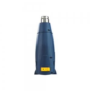 Pistol cu aer cald Rapid R1800, putere 1800 W, debit 450 l/min, reglare debit aer in 2 trepte, temperatura 300°C/550°C, protectie la supra incalzire, 2 ani garantie 50013415