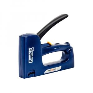Capsator tacket Rapid R453E Dual, reglare forta capsare, capse 53/6-14 mm, cuie 8/15, 3 ani garantie, 200095020
