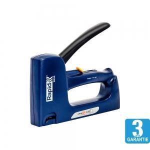 Capsator tacket Rapid R453E Dual, reglare forta capsare, capse 53/6-14 mm, cuie 8/15, 3 ani garantie, 200095021