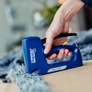 Capsator tacket Rapid R453E Dual, reglare forta capsare, capse 53/6-14 mm, cuie 8/15, 3 ani garantie, 200095026