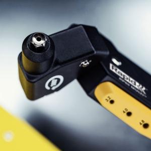 Cleste pop nituri Rapid RP60 Multi, cap rotativ 360⁰, 3.2/4.0/4.8mm, verificator nituri, etrier integrat, grip moale, garantie 3 ani, 50011408