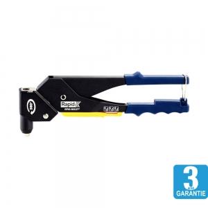 Cleste pop nituri Rapid RP60 Multi, cap rotativ 360⁰, 3.2/4.0/4.8mm, verificator nituri, etrier integrat, grip moale, garantie 3 ani, 500114011