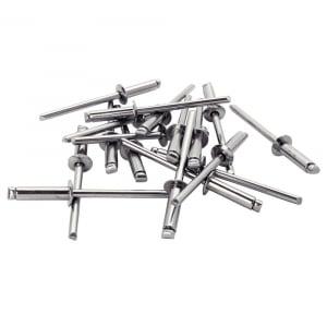 Nituri Rapid otel inoxidabil diametru 3.2mm x 8mm, burghiu metal HSS inclus, 50buc/set, 50003939