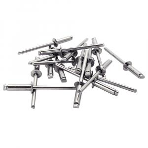 Nituri Rapid otel inoxidabil diametru 4.8mm x 18mm, burghiu metal HSS inclus, 50buc/set, 50003978