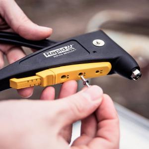 Nituri Standard Rapid diametru 4mm x 12mm, aluminiu, 100buc/set, 500037911