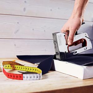 Capse Rapid 53/8 otel inoxidabil, sarma subtire, decoratiuni, 2500/cutie carton 2380800017