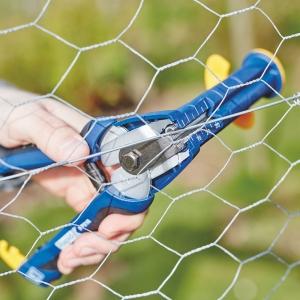 Capse gard Rapid HOG VR22, 5-11 mm, plastifiate negru, 1600 buc/cutie2