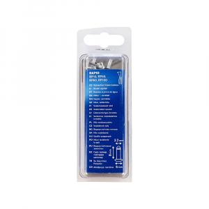 Nituri etansare Rapid diametru 3.2mm x 8mm, aluminiu, burghiu metal HSS inclus, 50 buc/set 500039910
