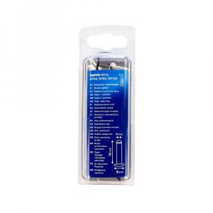 Nituri etansare Rapid diametru 4.0mm x 16mm, aluminiu, burghiu metal HSS inclus, 50 buc/set 500040111