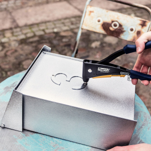 Nituri cu cap larg Rapid diametru 3.2mm x 8mm, aluminiu, burghiu metal HSS inclus, 50 buc/set 50006593