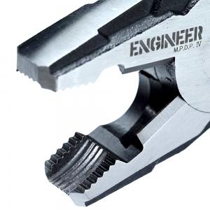 Cleste patent combinat ENGINEER PZ-59, extragere suruburi uzate, 200 mm, taie Ø3.2mm, fabricat in Japonia11