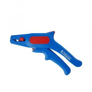 Cleste pentru dezizolat cablu, 380 UNIOR, albastru-rosu,160 mm,  6109251