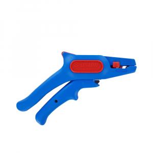 Cleste pentru dezizolat cablu, 380 UNIOR, albastru-rosu,160 mm,  6109252