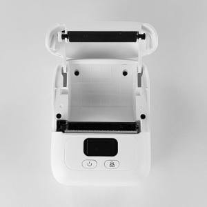 Imprimanta termica portabila Sanco Labelwriter M110 Bluetooth aparat de etichetat cu etichete in rola, acumulator Li-Ion 1500 mAh, cablu date, rola suport etichete ajustabila10