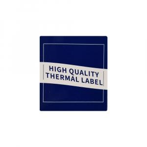 Etichete termice ecusoane/carduri mari 53 mm x 8 m, modul continuu neadezive, plastic alb, 1 rola, pentru imprimanta AYMO M2005