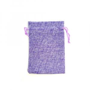 Saculet textil violet 17cm x 11.5cm0