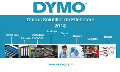 Catalog dymo 2018 sancogrup