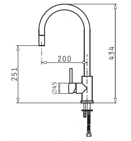 Baterie bucatarie Pyramis VERISMO - inox [1]