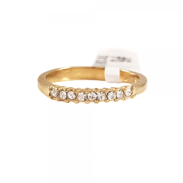 Inel de logodna placat cu aur SaraTremo 1