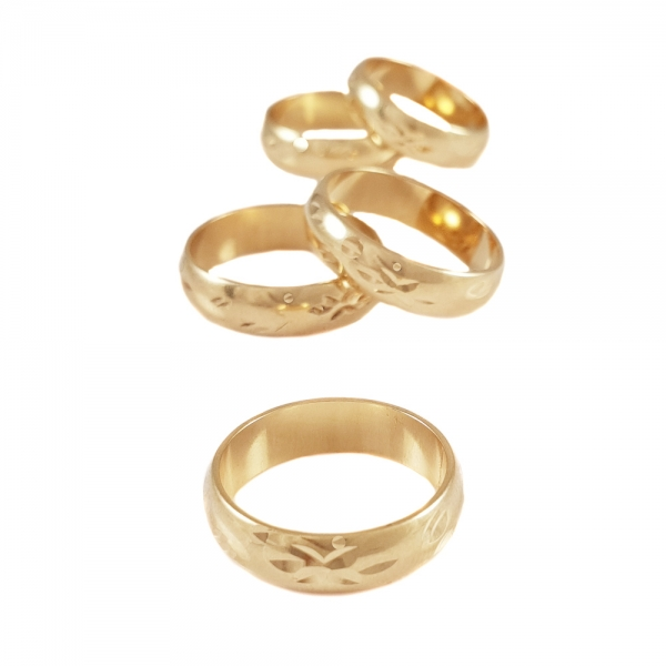 Inel placat cu aur SaraTremo 0
