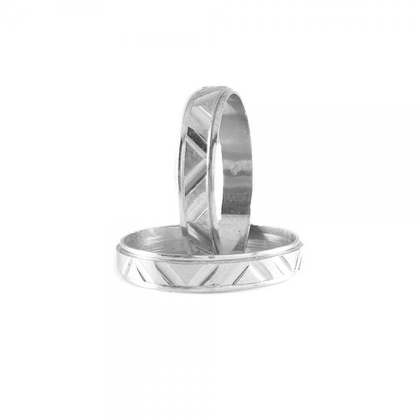 Inel tip verigheta argint SaraTremo 1