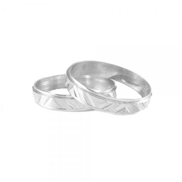 Inel tip verigheta argint SaraTremo 2