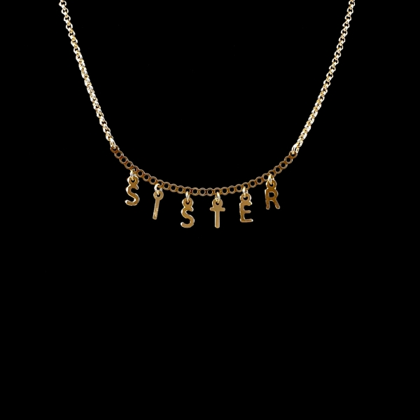 Colier personalizat placat cu aur SaraTremo 4