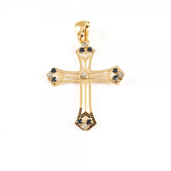 Cruciulita placata cu aur SaraTremo 1