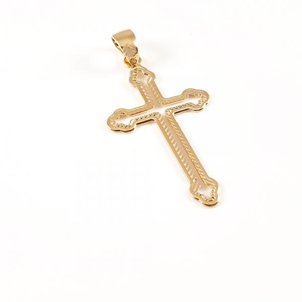 Cruciulita placata cu aur Amen