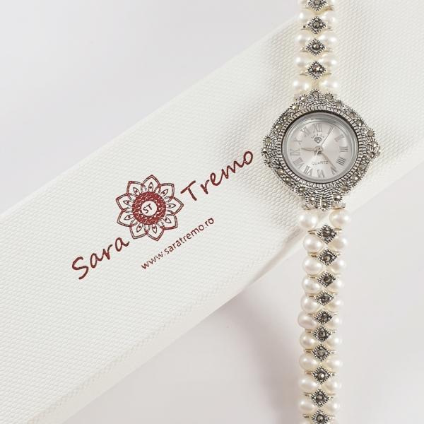 Ceas din argint masiv SaraTremo 9