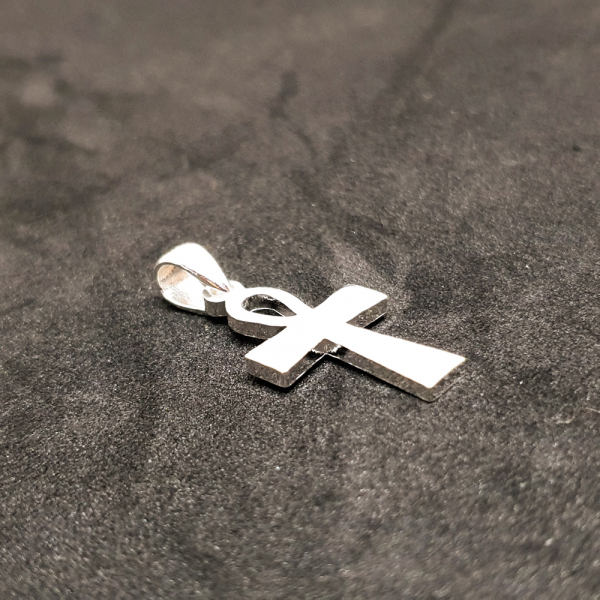 Cruciulita din argint rodiat SaraTremo 1